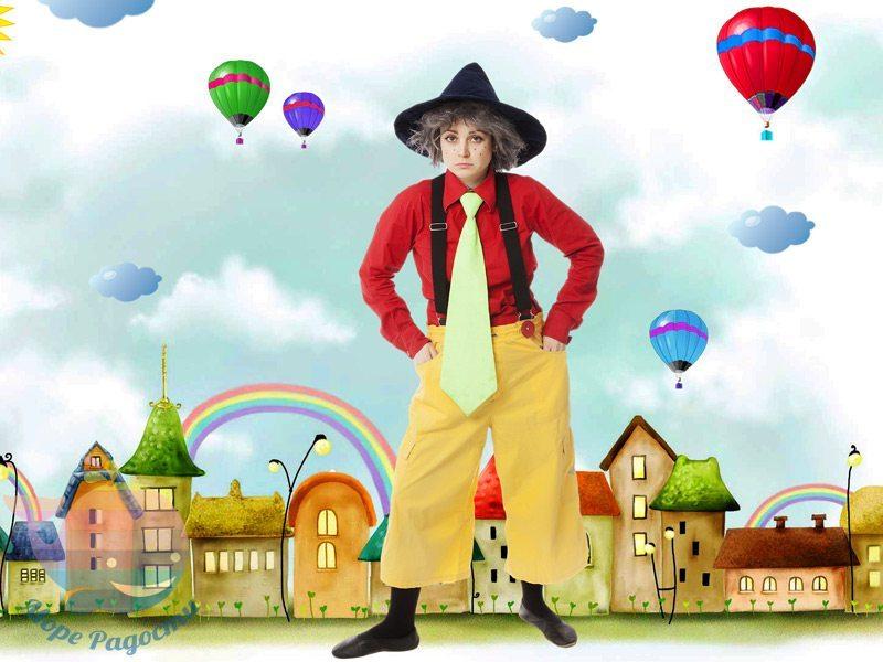 незнайка на детский праздник мальчика