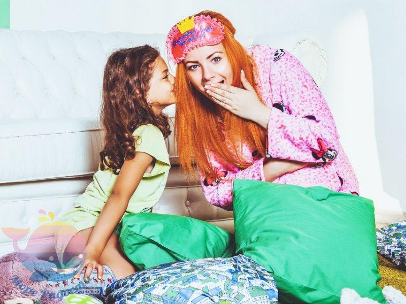 пижамная вечеринка на детский праздник