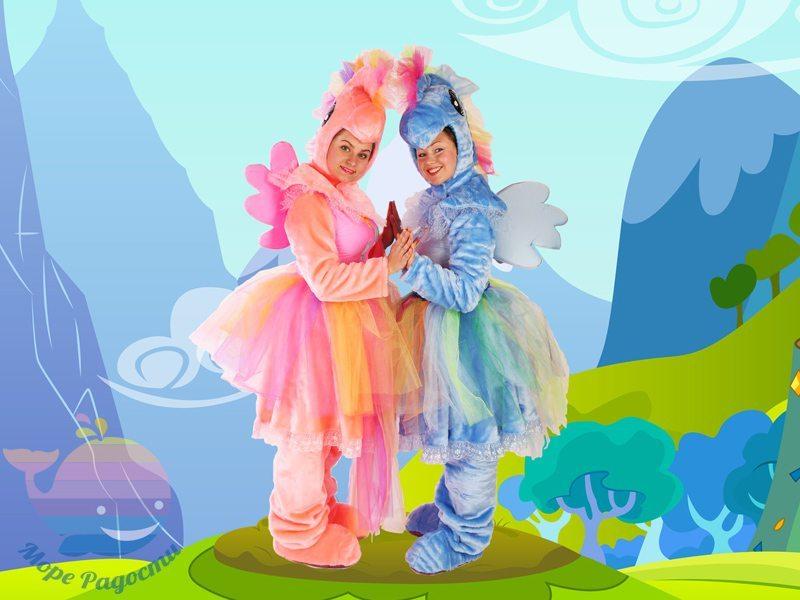 литл пони на детский праздник девочке