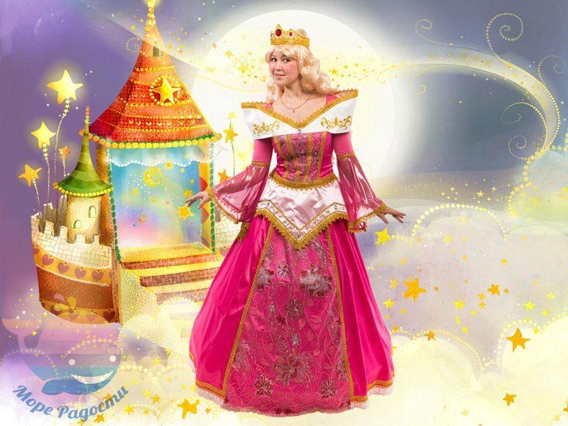 принцесса аврора на детский праздник девочке