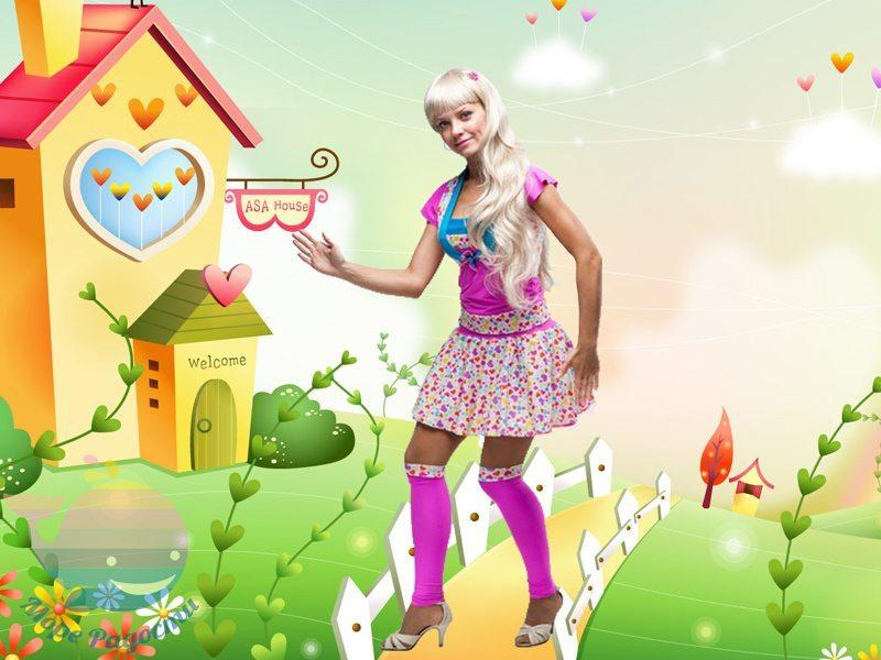 барби на детский праздник девочке