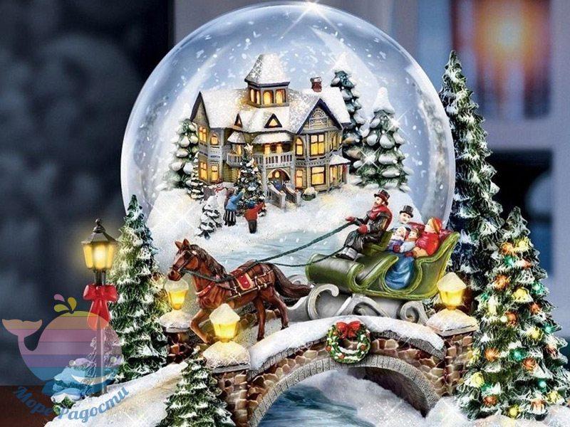 мастер-класс снежные шары
