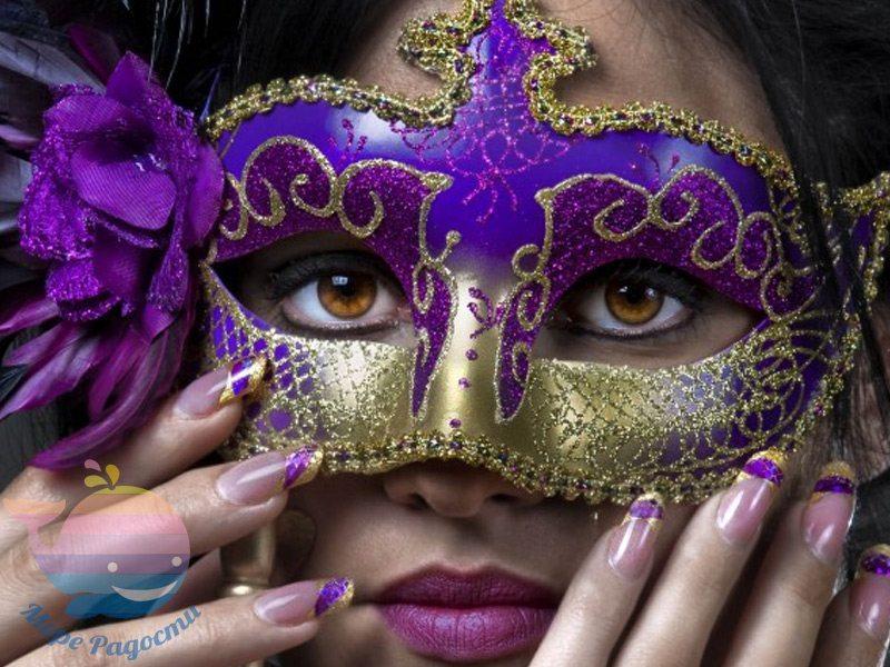 мастер-класс карнавальные маски