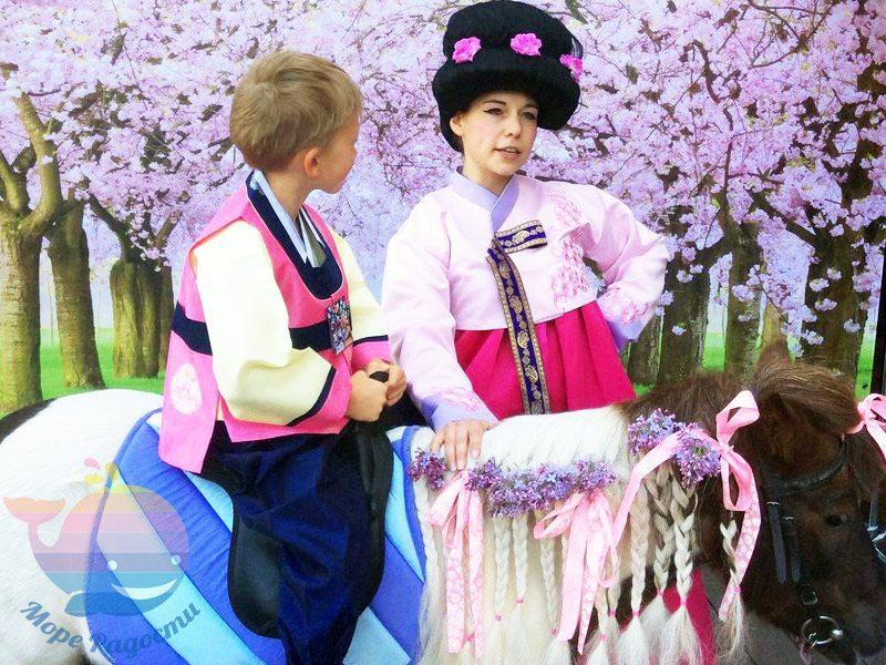 Этно шоу на детский праздник