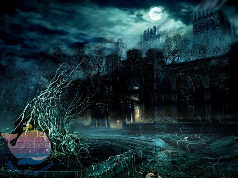 дом с привидениями на детский праздник мальчика